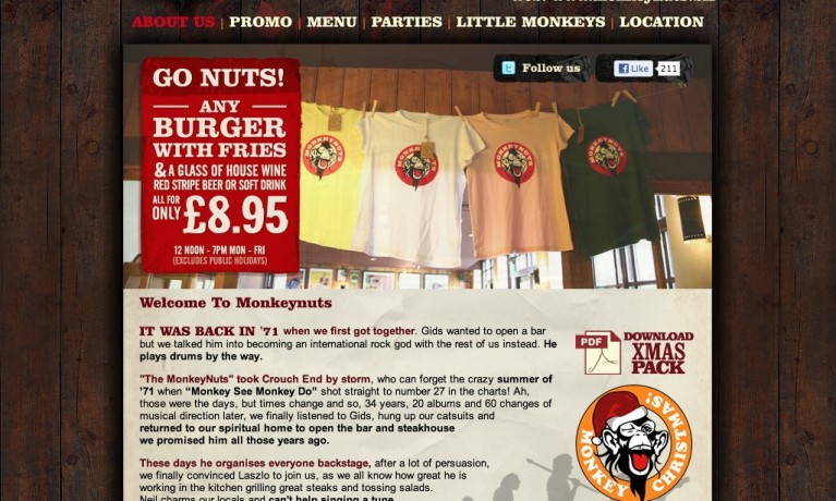 MoNkEyNuTs Restaurant
