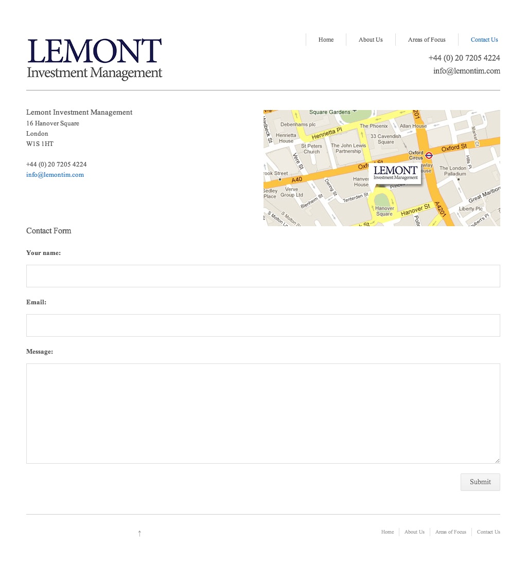 Lemont Investment Management