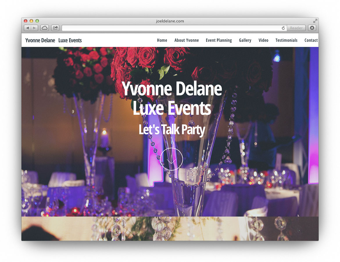 Yvonne Delane Luxe Events